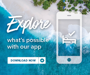 Advertisement by Marriott: Explore what's possible with our app. Download now.